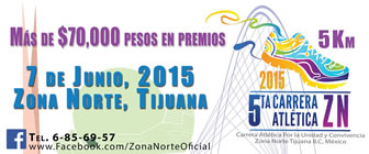5ta. Carrera Zona Norte 7 de Junio 2015